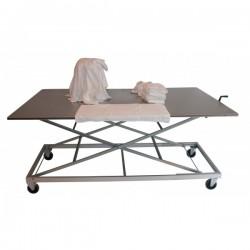 Table ergonomique inox
