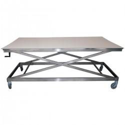 Table ergonomique plateau bois
