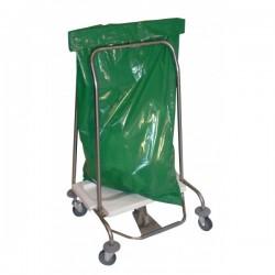 Chariot collecteur déchets